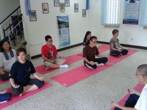 Keep-able Center (Cancer Survivor Community) - Indoor Qigong activity - Mingmen Qiao